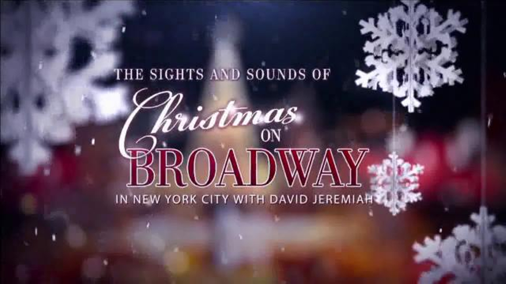 The Sights and Sounds of Christmas on Broadway TV Spot - iSpot.tv