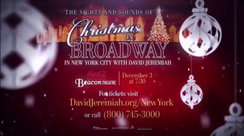 The Sights and Sounds of Christmas on Broadway TV Spot - Thumbnail 6