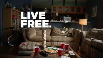 Totino's Pepperoni Pizza Rolls TV Spot, 'Live Free. Couch Hard.' - Thumbnail 9