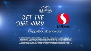 Aquafina TV Spot, 'Dancing with the Stars Sweeps: Happy Body Dance' - Thumbnail 3