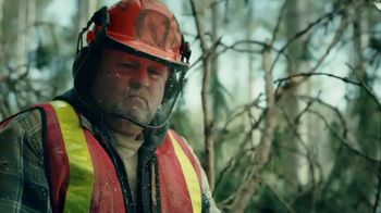 Timberland PRO Boondock Work Boot TV Spot, 'Chainsaw' - 106 commercial airings