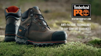 Timberland PRO Boondock Work Boot TV Spot, 'Chainsaw' - Thumbnail 8