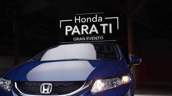 2015 Honda Civic El Gran Evento Para Ti TV Spot, 'Mejor compra' [Spanish] - Thumbnail 1