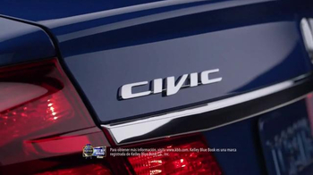 2015 Honda Civic El Gran Evento Para Ti TV Spot, 'Mejor compra' [Spanish] - Thumbnail 2