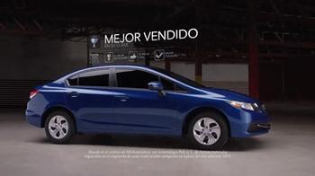 2015 Honda Civic El Gran Evento Para Ti TV Spot, 'Mejor compra' [Spanish] - Thumbnail 4