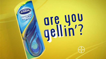 Dr. Scholl's TV Spot, 'Quit Yelling, We're Gellin' - Thumbnail 9