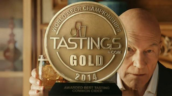 Strongbow Hard Cider TV Spot, \'In Our Shot\' Featuring Patrick Stewart