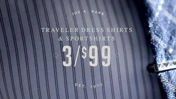 JoS. A. Bank Super Weekend Sale TV Spot, 'Travelers and Merino' - Thumbnail 3