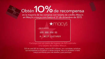 Macy's Evento de Gracias por Compartir TV Spot, '' [Spanish] - Thumbnail 4