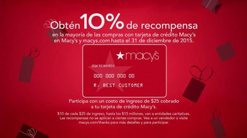 Macy's Evento de Gracias por Compartir TV Spot, '' [Spanish] - Thumbnail 5