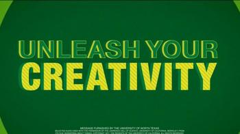 University of North Texas TV Spot, 'Unleash Your Creativity' - Thumbnail 7