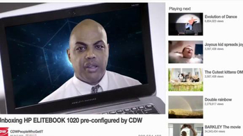 HP Elitebook 1020 TV Spot, 'Trapped in the Internet' Feat. Charles Barkley - Thumbnail 6