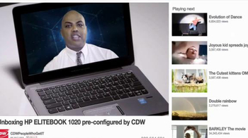 HP Elitebook 1020 TV Spot, 'Trapped in the Internet' Feat. Charles Barkley - Thumbnail 8