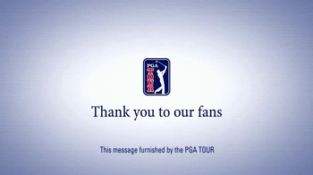 PGA Tour TV Spot, 'Thank You Fans' - Thumbnail 10
