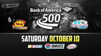 Charlotte Motor Speedway TV Spot, 'Bank of America 500: Hunter Hayes' - 3 commercial airings