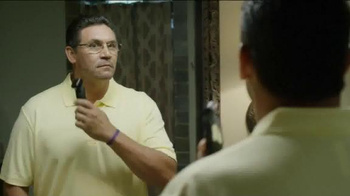 USAA TV Spot, 'Coach Ron Rivera Takes Risks: Close Shave' - Thumbnail 1