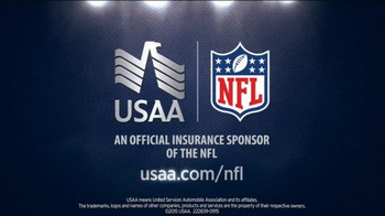 USAA TV Spot, 'Coach Ron Rivera Takes Risks: Close Shave' - Thumbnail 5