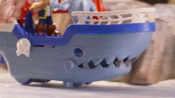 Jake and The Neverland Pirates Shark Attack Sea Ship TV Spot, 'Shark!' - Thumbnail 2