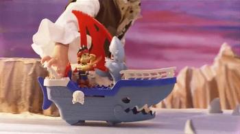 Jake and The Neverland Pirates Shark Attack Sea Ship TV Spot, 'Shark!' - Thumbnail 3