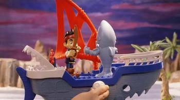 Jake and The Neverland Pirates Shark Attack Sea Ship TV Spot, 'Shark!' - Thumbnail 4