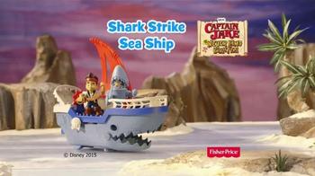 Jake and The Neverland Pirates Shark Attack Sea Ship TV Spot, 'Shark!' - Thumbnail 8