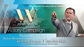 Kenneth Copeland Ministries TV Spot, 'KCM 2015 Events: October-November' - 9 commercial airings