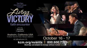 Kenneth Copeland Ministries TV Spot, 'KCM 2015 Events: October-November' - Thumbnail 2