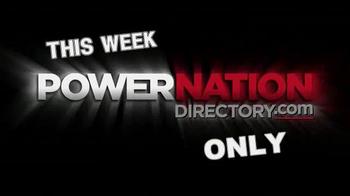PowerNation Directory TV Spot, 'Cylinder Heads, Wheels, Kits and Jacks'