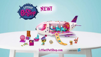 Littlest Pet Shop Jet TV Spot, 'First Class Seats'