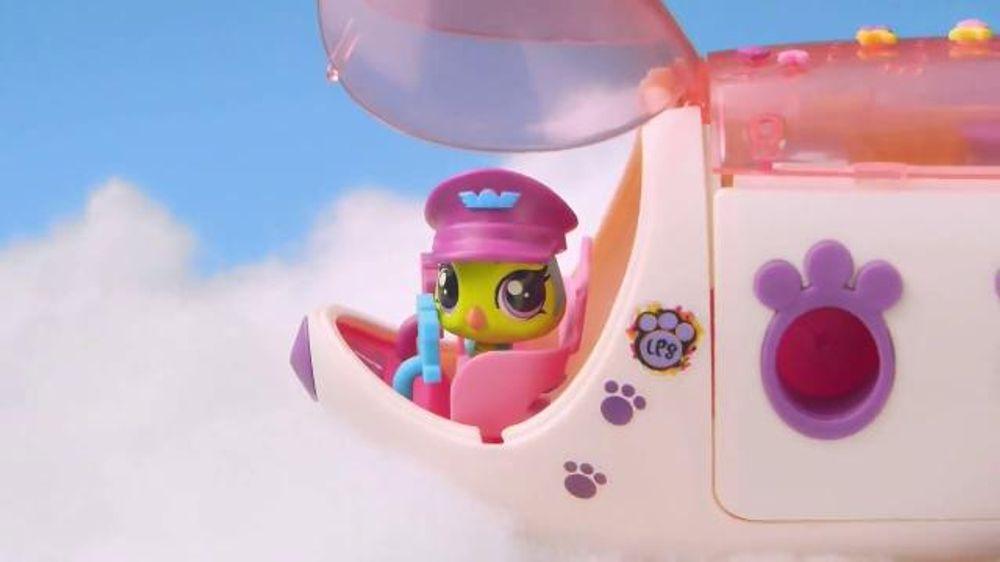 Littlest Pet Shop Pet Jet TV Commercial, 'First Class Seats'