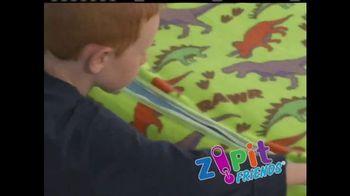Zipit Friends TV Spot, 'Bedding With Zippers'