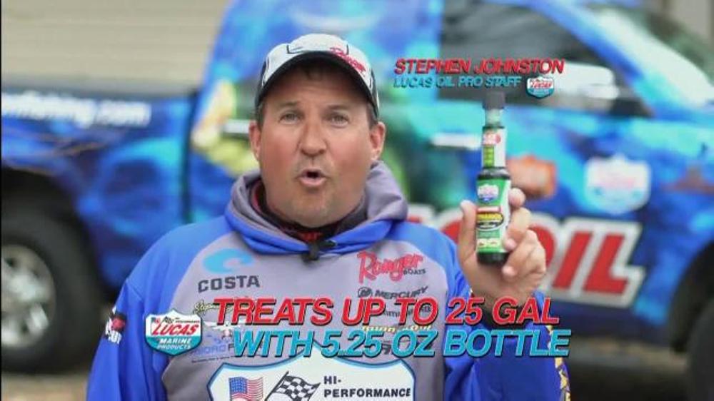 Lucas Oil Safeguard Ethanol Fuel Conditioner TV Commercial, 'Marine Application'