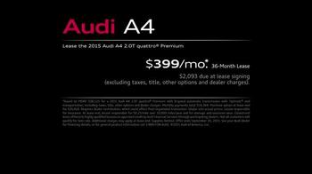2015 Audi A4 TV Spot, 'Toll Booth' - Thumbnail 7
