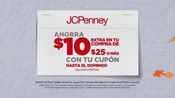 JCPenney Venta del Súper Sábado TV Spot, 'Ahorros de otoño' [Spanish] - Thumbnail 4