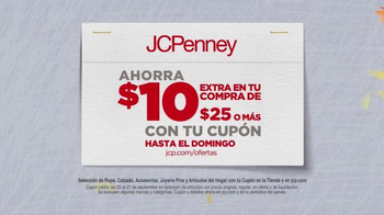 JCPenney Venta del Súper Sábado TV Spot, 'Ahorros de otoño' [Spanish] - Thumbnail 5