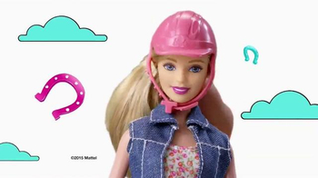 Barbie Saddle 'N Ride Horse TV Spot, 'Swing on Up' - Thumbnail 1