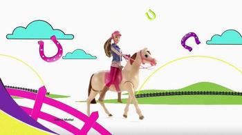 Barbie Saddle 'N Ride Horse TV Spot, 'Swing on Up' - Thumbnail 2