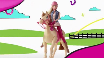 Barbie Saddle 'N Ride Horse TV Spot, 'Swing on Up' - Thumbnail 3