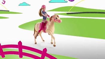 Barbie Saddle 'N Ride Horse TV Spot, 'Swing on Up' - Thumbnail 5