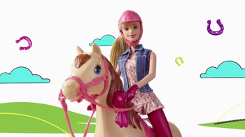 Barbie Saddle 'N Ride Horse TV Spot, 'Swing on Up' - Thumbnail 6