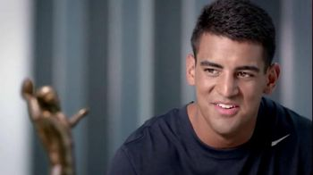 Subway TV Spot, 'Trophy Talk: Spiral' Featuring Marcus Mariota - 1 commercial airings
