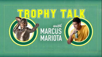 Subway TV Spot, 'Trophy Talk: Pumping Iron' Featuring Marcus Mariota - Thumbnail 1