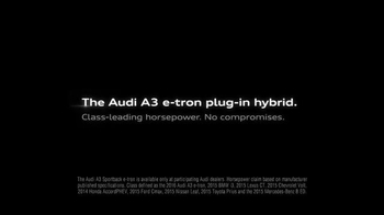 2016 Audi A3 e-tron TV Spot, 'New Arrival' - Thumbnail 8