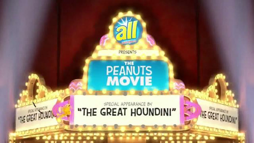 All Laundry Detergent Tv Commercial The Peanuts Movie