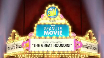 All Laundry Detergent TV Spot, 'The Peanuts Movie: Great Houndini' - Thumbnail 2