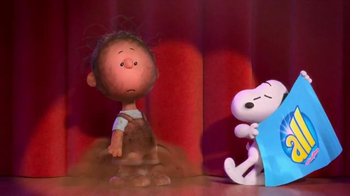 All Laundry Detergent TV Spot, 'The Peanuts Movie: Great Houndini' - 3322 commercial airings