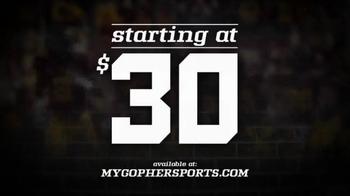 University of Minnesota Gopher Football TV Spot, 'Homecoming' - Thumbnail 5