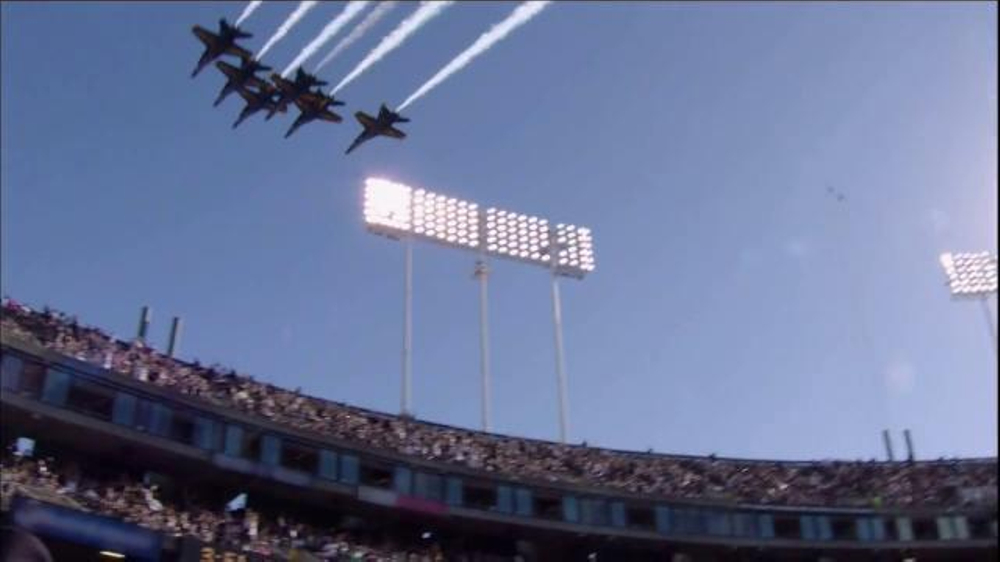 USAA TV Commercial, 'Salute to Service: Flyover'