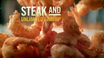Outback Steakhouse Steak & Unlimited Shrimp TV Spot, 'It's Back' - Thumbnail 2