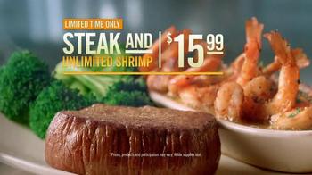 Outback Steakhouse Steak & Unlimited Shrimp TV Spot, 'It's Back' - Thumbnail 4